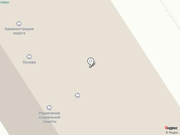 Комитет финансов на карте Петрозаводска