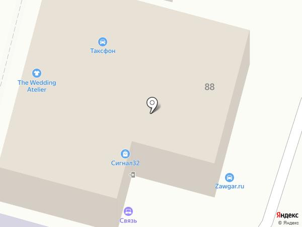 Кредитный эксперт на карте Брянска