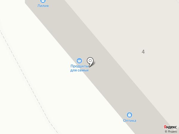 Магазин мяса на карте Брянска