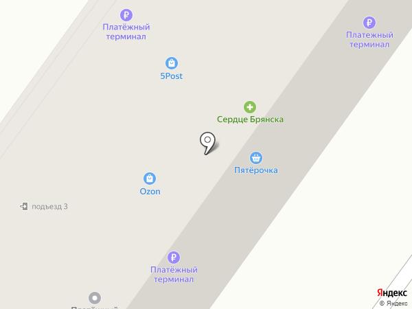 Линолеум на карте Брянска