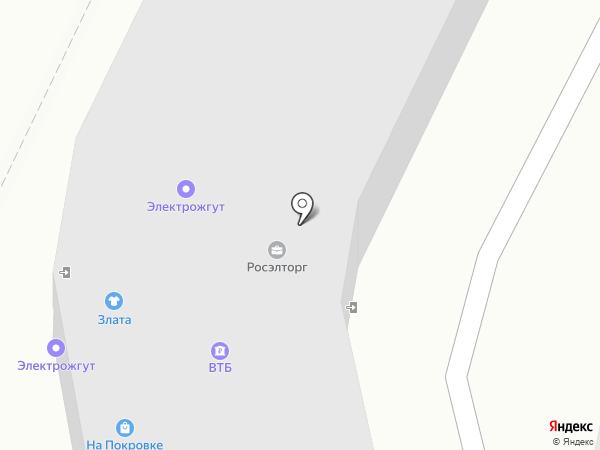 Антарес-С на карте Брянска