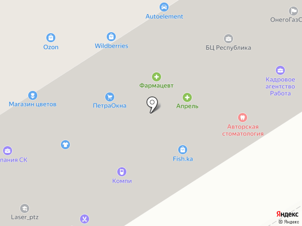 Банкомат, Росгосстрах банк, ПАО на карте Петрозаводска