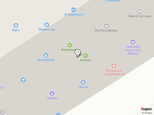 MeiTan на карте Петрозаводска