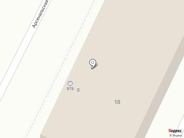 Банк ВТБ, ПАО на карте Брянска