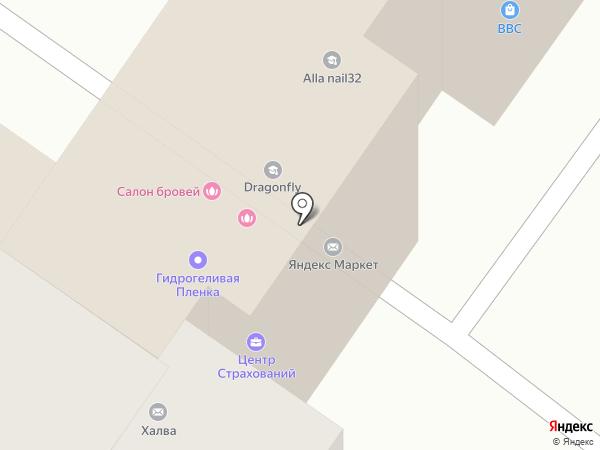 Брянскгорстройзаказчик на карте Брянска