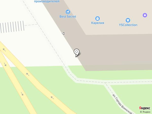 Элекснет на карте Петрозаводска
