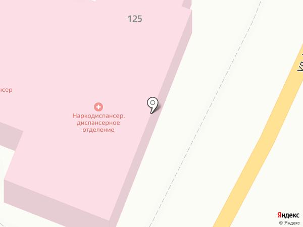 Брянский областной наркологический диспансер на карте Брянска