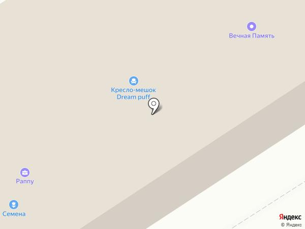 Стелла на карте Петрозаводска