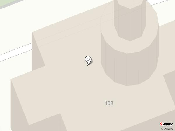Церковь Иконы Божией Матери Тихвинская на карте Брянска