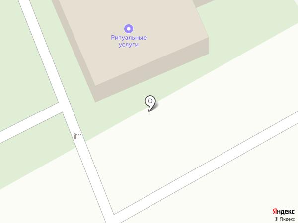 Кладбище Фокинского района на карте Брянска