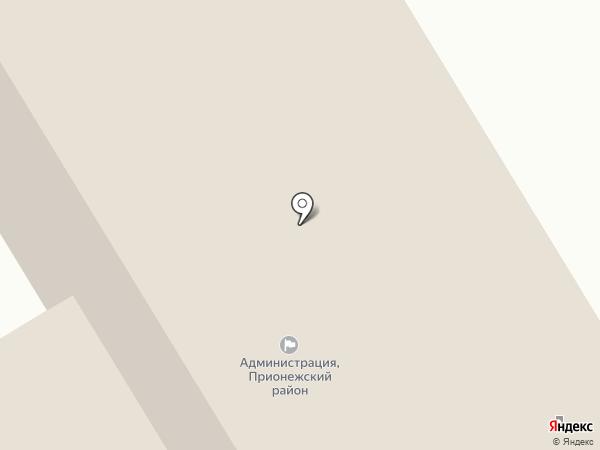 Центр социальной работы Прионежского района на карте Петрозаводска