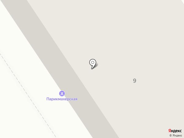 Парикмахерская на Правде на карте Петрозаводска