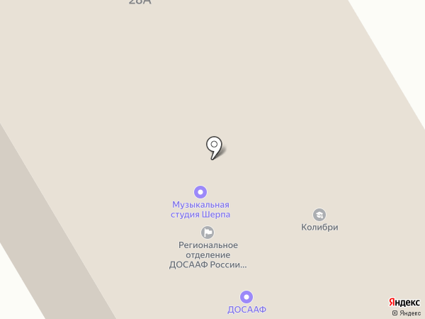 ИНКАР на карте Петрозаводска