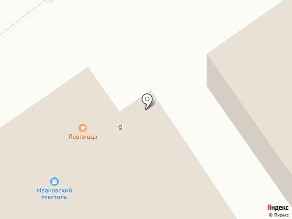 Леопицца на карте Брянска