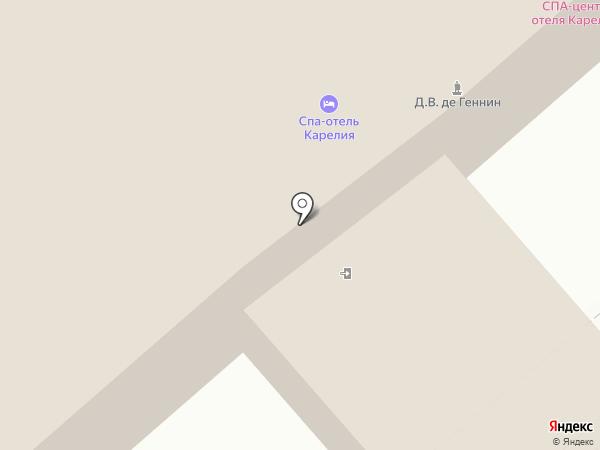 SPA-центр на карте Петрозаводска