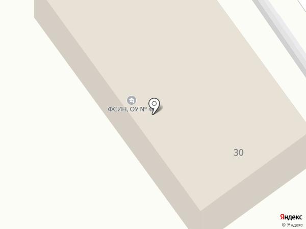 Исправительная колония №1 на карте Брянска