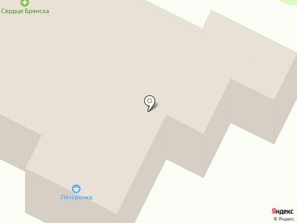 Капель на карте Брянска