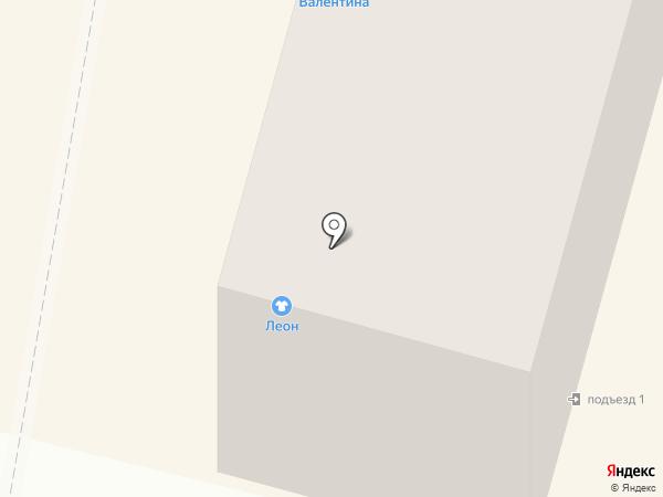 Валентина на карте Брянска
