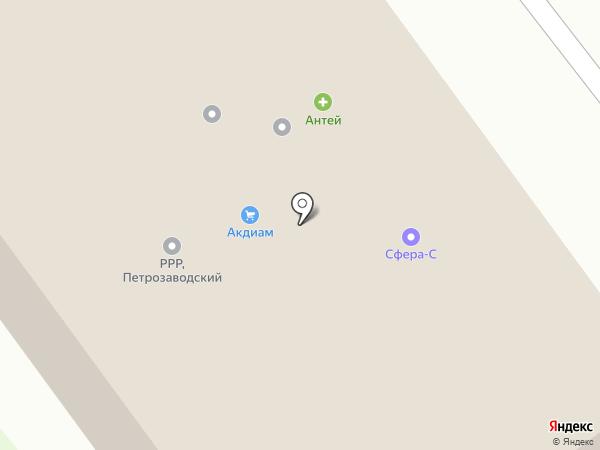 СпутникСервис на карте Петрозаводска
