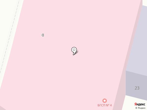 Брянская городская стоматологическая поликлиника №4 на карте Брянска