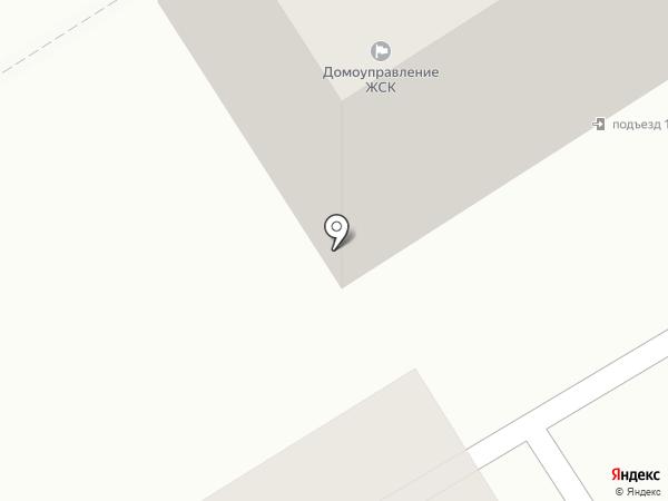 Домоуправление ЖСК на карте Брянска