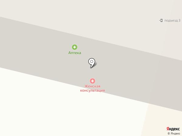 Детская поликлиника №5 на карте Брянска