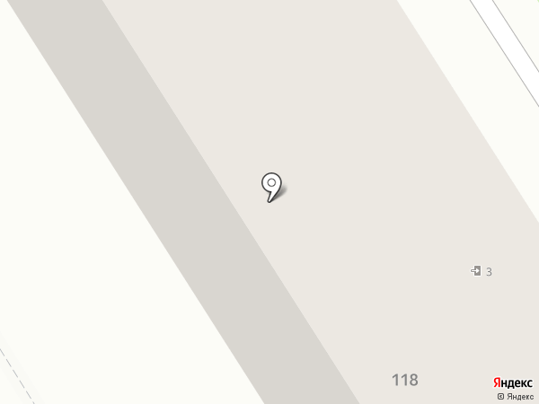 Этюд на карте Брянска