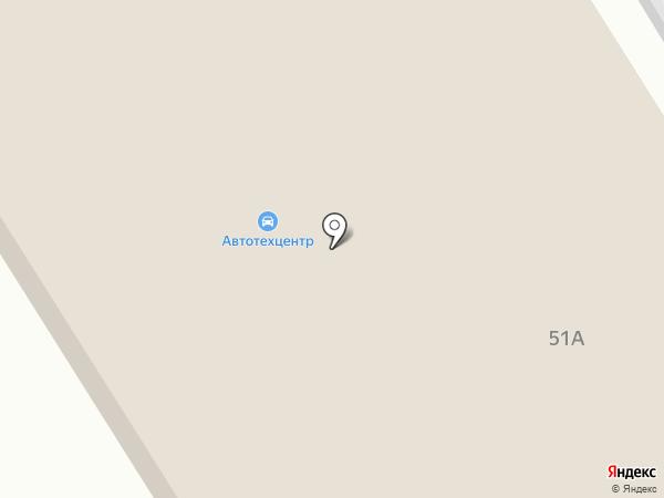 Шиномонтажная мастерская на карте Брянска