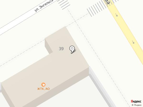 ЖТК на карте Брянска