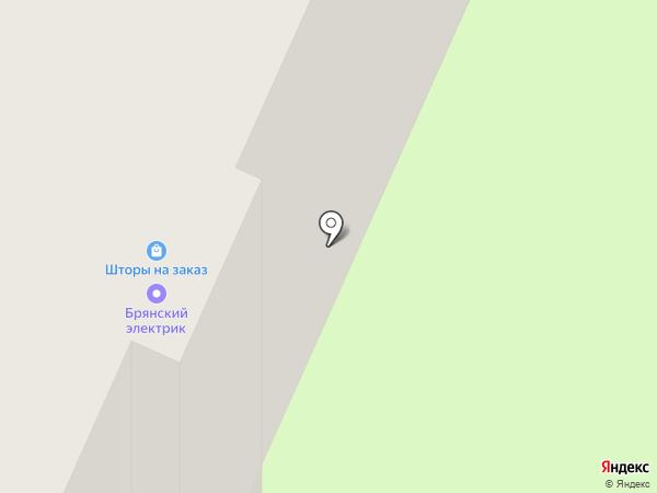 Карамель на карте Брянска