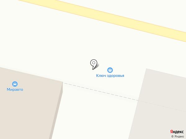 Ключ здоровья на карте Брянска