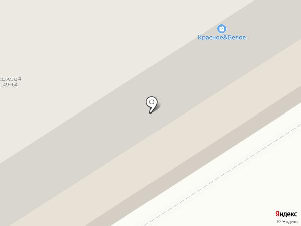 Спутник на карте Брянска