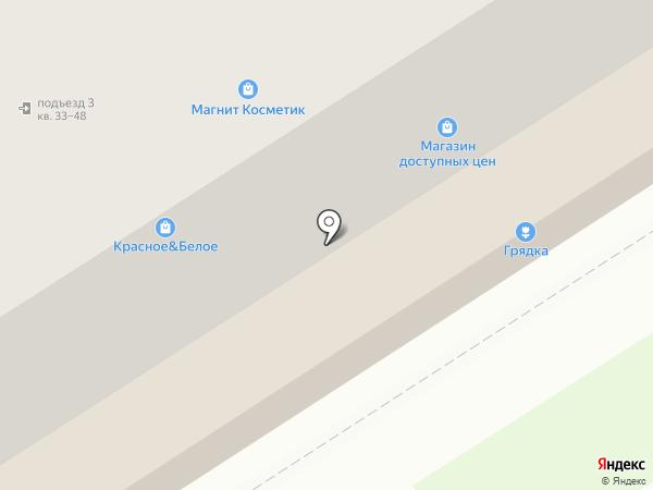 Королёк на карте Брянска