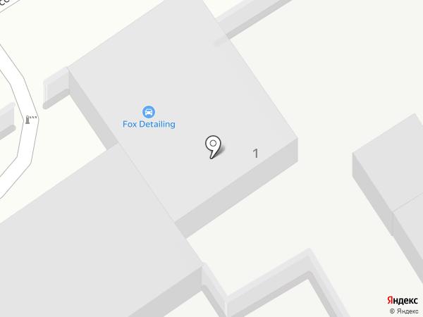 Центр шиномонтажа на ул. Пушкина на карте Брянска