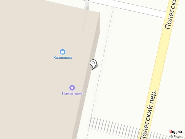 Автобус на карте Брянска