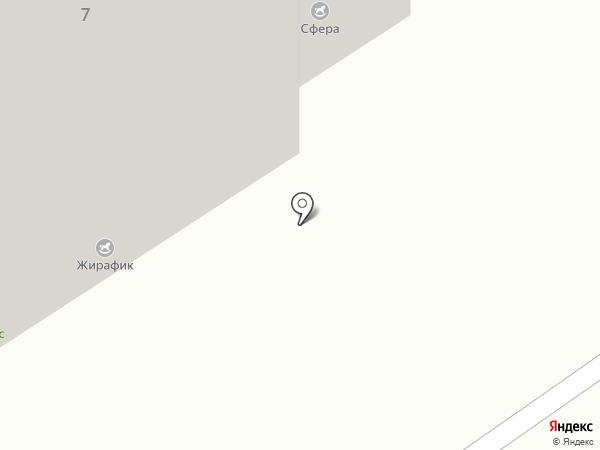 Сфера на карте Брянска