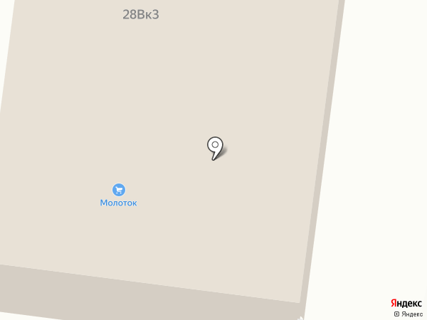 Молоток на карте Брянска