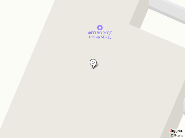 Брянский отряд ведомственной охраны на карте Брянска