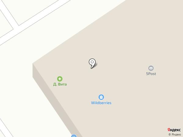Акварель на карте Брянска