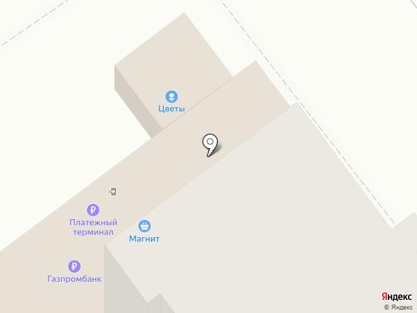 Цветочный магазин на карте Брянска