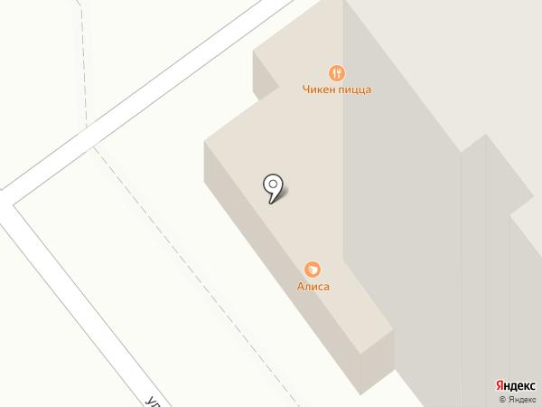 Алиса на карте Брянска