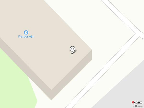 Цветочный склад на карте Петрозаводска