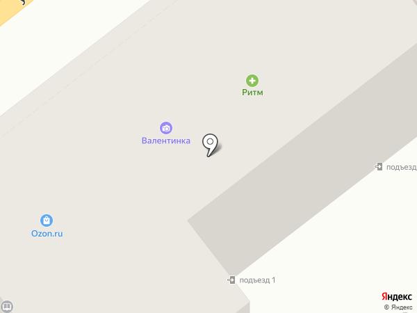 Дубки на карте Брянска