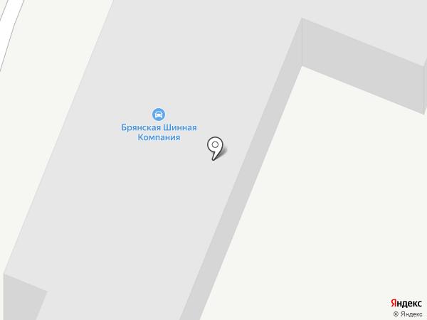 Мегадачник на карте Брянска