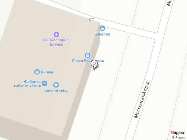 Экосервис на карте Брянска