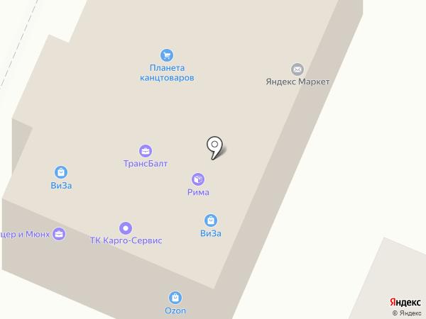 Универсальный магазин на карте Брянска