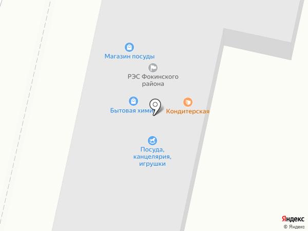 Конфетка на карте Брянска