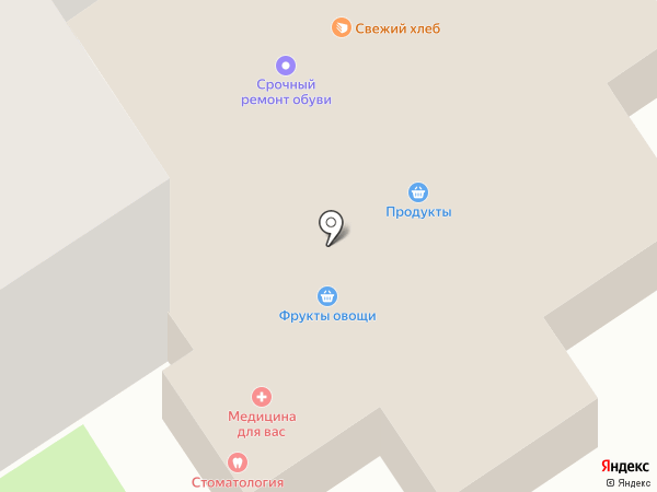 Интермедсервис на карте Брянска