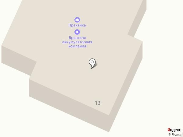Реал Групп на карте Брянска