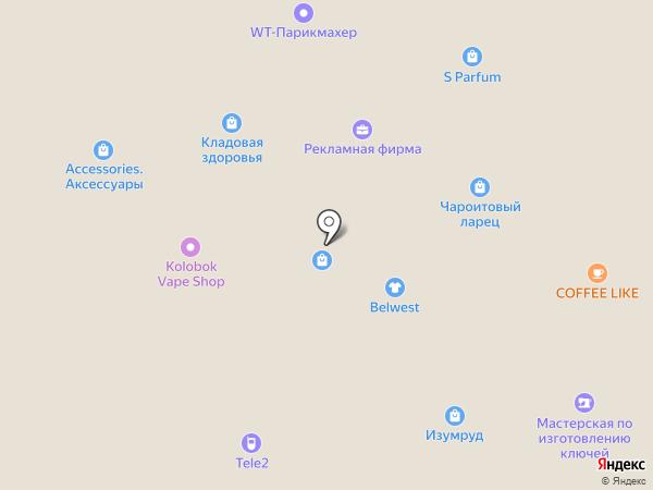 Платежный терминал, Среднерусский банк Сбербанка России на карте Брянска
